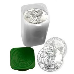 Roll of 20 - 2017 American Silver Eagles Since the first American Eagle Silver Dollars were struck in 1986, the public has clamored to buy these big, beautiful, newly minted silver coins. In fact, year after year the total mintage has sold out completely due to the huge demand by investors. Without a doubt, the American Eagles are the most popular way to invest in silver bullion coins worldwide.