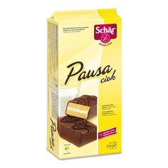 Bolo de pão de ló com cobertura de chocolate sem g