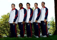 Dreamboats: Olympic Edition. Instead of posting each of team USA's male gymnasts individually, because they're all pretty amazing, why not just post the team as a team?! Featuring Jonathan Horton, John Orozco, Samuel Mikulak, Jacob Dalton, and Danell Leyva.