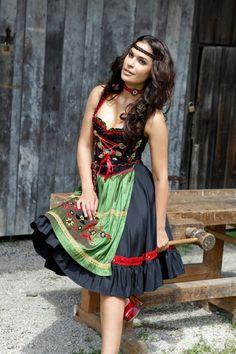 Mademoiselle Anouk - Herbst/Winter 2012/13 #AnouketEmile #Dirndl #Trachten…