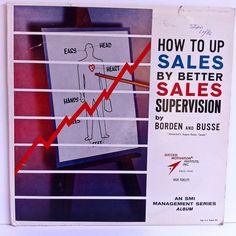 How To Up Sales By Better Supervision Vinyl Record LP 1962 Borden and Busse Success Motivation Institute Business Management by vintagebaronrecords on Etsy