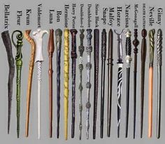 Gli Arcani Supremi (Vox clamantis in deserto - Gothian): Tutte le bacchette magiche dei personaggi di Harry Potter