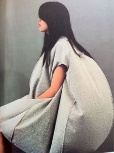 New Order - hard line modernist styling inspires AW2012 Issey Miyake
