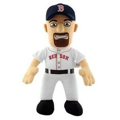 "Boston Red Sox Red Sox Youkilis Plush Doll 14"""