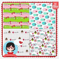 Template Papers Collection 2012 nº20 by Fa Maura [FaMaura_TemplateDoodlesPapersCup] - R$5.04 : famaura.com - scrapshop