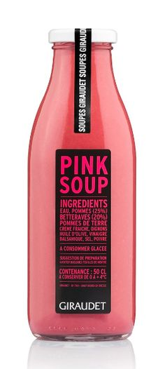 Giraudet Pink Soup #packaging