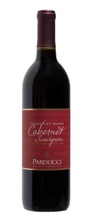 The Parducci Small Lot Blend Cabernet Sauvignon Mendocino County 2009, $11,is an exceptional Cab for the price — the flavors aresoft and approachable –black currants, cherries, plums, brown spices and dark chocolate.