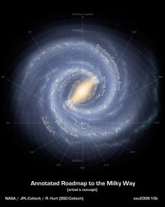 A debate has been raging about whether our galaxy has four spiral arms, or two. A 12-year study of massive stars suggests that it has four. Release Date: Dec 17, 2013> http://earthsky.org/space/our-milky-way-does-have-four-arms-astronomers-say > http://galaxymap.org/drupal/node/171 > http://www.sci-news.com/astronomy/science-milky-way-galaxy-four-spiral-arms-01649.html