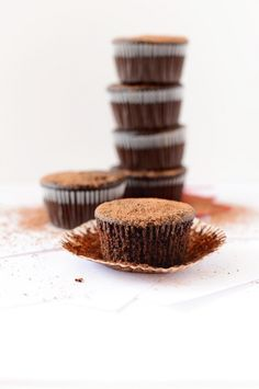 Vegan Fudgy Beet Cupcakes