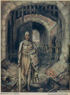 Gijsbrecht van Aemstel 1936, by Anton Pieck