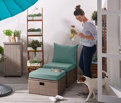 Loungesessel mit Fußteil online bestellen bei Tchibo 378904
