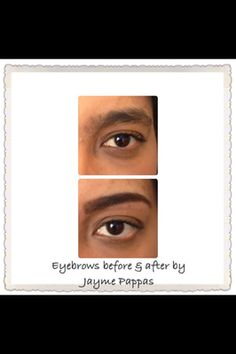 Eyebrow tint and shape by Jayme Pappas. | Yelp