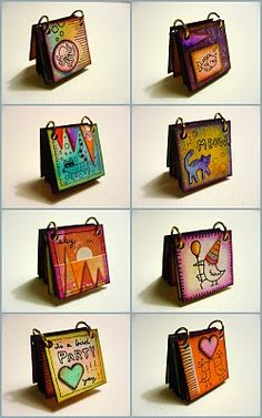 Another Teeny Inchies Book inspiration.... http://www.oopsicraftmypants.com/2010/04/another-teeny-inchies-book.html