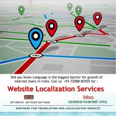 Bhasha Bharati based in India offers a professional and certified website localisation ( translation) services in Mumbai, Pune, Delhi, Bangalore, Hyderabad for companies wanting to expand their businesses and communicate to global consumers. Art Partner, Delhi India, Did You Know, Pune, Hyderabad, Language, Website, Languages