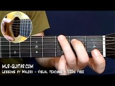 """How to play """"Yesterday"""" - MLR-Guitar Lesson #1 of  4"""