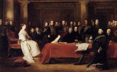 El primer consejo de la reina Victoria, 1838 - David Wilkie