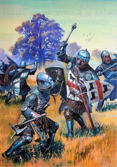 Kurkin - Le combat des Trente (Calverley, Rochefort)