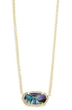 Kendra Scott Kendra Scott 'Elisa' Pendant Necklace available at Cute Jewelry, Jewelry Accessories, Women Jewelry, Jewelry Box, Kendra Scott Necklace, Girls Necklaces, Diamond Pendant, Diamond Jewelry, Luxury Jewelry
