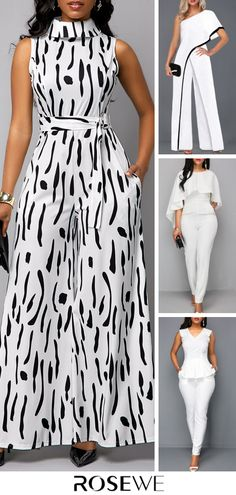 Casual Jumpsuits For Women 2020 - Source by - Long African Dresses, Latest African Fashion Dresses, African Print Fashion, Chic Outfits, Trendy Outfits, Fashion Outfits, Vetement Fashion, African Attire, Classy Dress