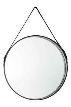 Pyöreä peili - Musta - Home All | H&M FI