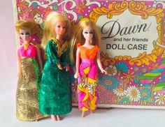 Dawn Dolls  Vintage Dawn and her Friends by PastLifeProprietors