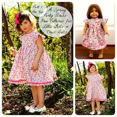 Free Pattern: Spring Party Dress, Part 1: The Top
