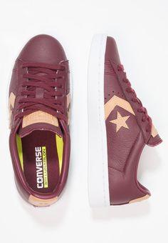 Converse PL 76 - Sneakers - deep bordeaux/tan - Zalando.se