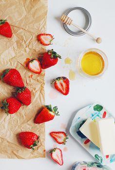 Strawberry Honey Butter