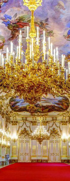 Schönbrunn Palace -Interior Detail- Vienna   Austria