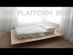 Make This DIY Modern Wood Platform Bed | CONTEMPORIST