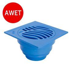 Produk menarik dari Bukalapak nih!   AIR Floor Strainer / Pembuangan Air di Lantai SPLAST K-B   - Floor Strainer / Pembuangan Air di lantai - Untuk kamar mandi, teras, carport, dll) - Warna biru - Terbuat dari ABS Plastic berkualitas, Anti Pecah - Desain Khusus bentuk Slope untuk mencegah bau dan binatang - Ekonomis dan mudah dalam pemasangan - Panjang x Lebar x Tinggi: 11 cm x 6 cm x 11 cm