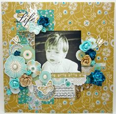 Pinkcloud Scrappers: Elegance with KaiserCraft Scrapbooking Layouts, Scrapbook Pages, Clear Stamps, Mini Albums, Paper Crafts, Elegant, Floral, Projects, Pattern