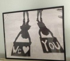 52 Weeks of Pinterest: Week 23 � Father�s Day Shadow Photo!