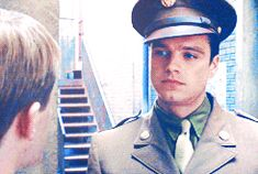 Captain America. (Bucky, you're killing me.) photo tumblr_me0edspfb21ryddha_zps46326559.gif