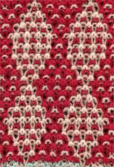 Harlequin - Knittingfool Stitch Detail