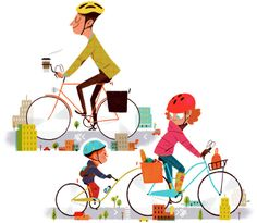 """The Year of The Bike"" trabajo de #studioespinosa + en: http://www.drawger.com/studioespinosa/?section=articles_id=13573 #Mejorenbici #Bike"