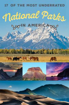 Of The Most Underrated National Parks In America * m. 17 Of The Most Underrated National Parks In America -* m. 17 Of The Most Underrated National Parks In America - American National Parks, Us National Parks, State Parks, Trekking, Nationalparks Usa, Places To Travel, Places To Go, Travel Destinations, Vacation Places