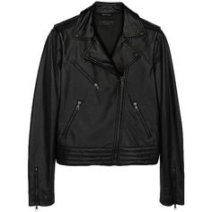 624cd20154b7d Rag  amp  Bone Bowery Jacket ( 850) ❤ liked on Polyvore featuring outerwear