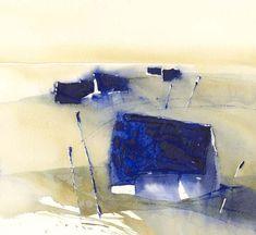 Kustbygd Watercolor Artists, Watercolor Techniques, Building Painting, Mark Making, Gouache, Concept, Contemporary, Landscape, Watercolors