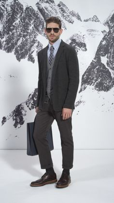 Technology, style and elegance come together for the Louis Vuitton Men's Fall/Winter 2013-2014 Collection.