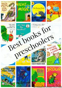 Best Books for Preschoolers - Our Top 20 Picks - From ABCs to ACTs (Favorite List For Kids)
