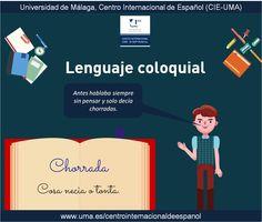 Lenguaje coloquial: chorrada. www.uma.es/centrointernacionaldeespanol