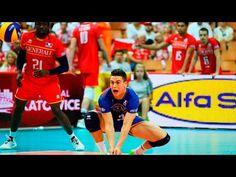 The best volleyball libero - Jenia Grebennikov - YouTube
