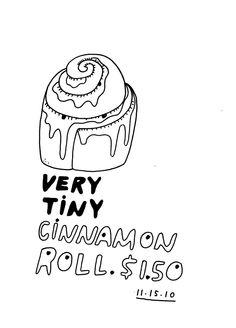 Daily Purchase Drawing plus bonus zine. $25.00, via Etsy.