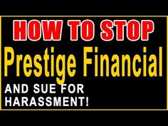 Prestige Financial Calling? | Sue and Get Up to $1,500 Per Call | 855-30...