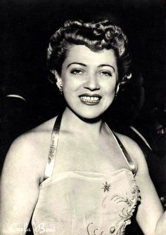 Carla Boni. Together with Nilla Pizzi, she was the most popular Italian female singer of the 1950s.