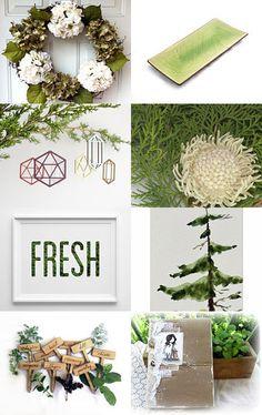 Winter garden by Mandarina on Etsy--Pinned with TreasuryPin.com
