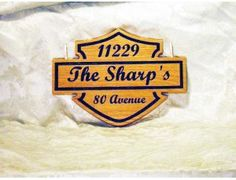 The Sharps Classic Motorcycle Logo