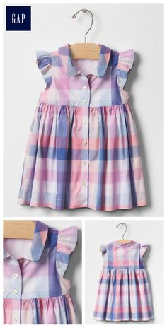 19 Ideas for sewing baby shirt toddler dress Frocks For Girls, Dresses Kids Girl, Little Girl Dresses, Kids Frocks Design, Baby Frocks Designs, Baby Girl Dress Patterns, Baby Dress Design, Toddler Dress, Toddler Outfits