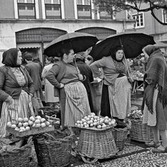 Postwar Portugal was a simple country with high rates of poverty. Here, women...